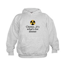 Chemo...It's What's for Dinner Hoodie