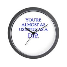 Useful as a D12 Wall Clock