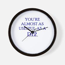 Useful as a D12 Wall Clock