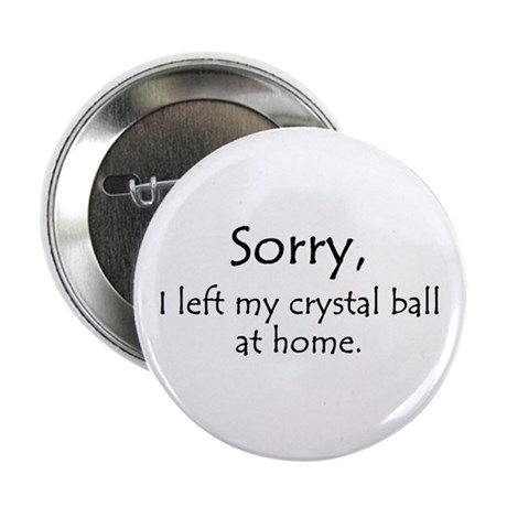 """Crystal Ball 2.25"""" Button (100 pack)"""
