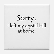 Crystal Ball Tile Coaster