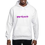 Guys Dig Nerds Hooded Sweatshirt