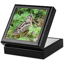 Female Woodcock Keepsake Box
