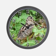 Female Woodcock Wall Clock