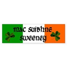 Sweeney in Irish & English Bumper Bumper Sticker