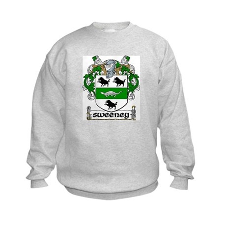 Sweeney Coat of Arms Kids Sweatshirt