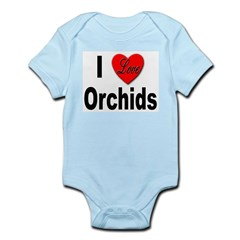 I Love Orchids Infant Creeper