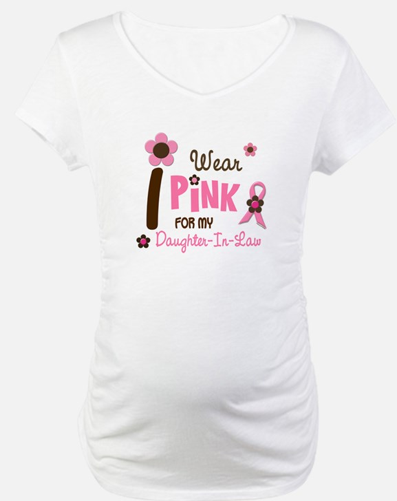 I Wear Pink For My Daughter-In-Law 12 Shirt