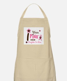 I Wear Pink For My Daughter-In-Law 12 BBQ Apron