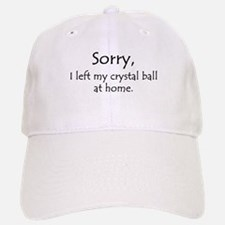 Crystal Ball Baseball Baseball Cap