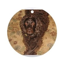 Cute Boykin spaniel Ornament (Round)