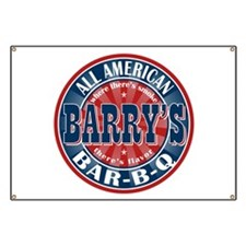 Barry's All American BBQ Banner