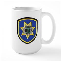 Redwood City Police Mug