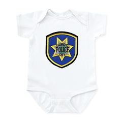 Redwood City Police Infant Bodysuit