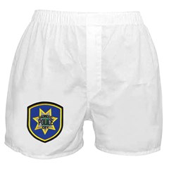 Redwood City Police Boxer Shorts