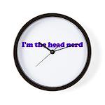 I'm The Head Nerd Wall Clock