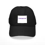 I'm The Head Nerd Black Cap