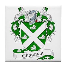 Chapman Family Crest Tile Coaster