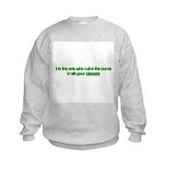I Ruin The Curve Sweatshirt