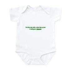 I Ruin The Curve Infant Bodysuit
