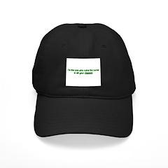 I Ruin The Curve Black Cap