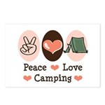 Peace Love Camping Postcards (Package of 8)