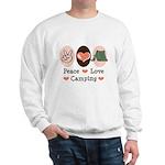 Peace Love Camping Sweatshirt