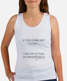 Attack of Opportunity Women's Tank Top