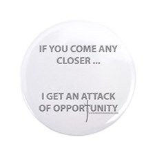 """Attack of Opportunity 3.5"""" Button (100 pack)"""