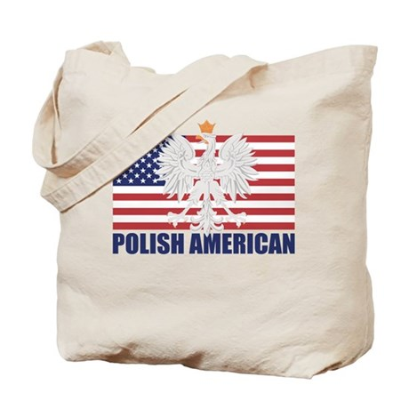Polish American Tote Bag