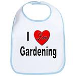 I Love Gardening Bib