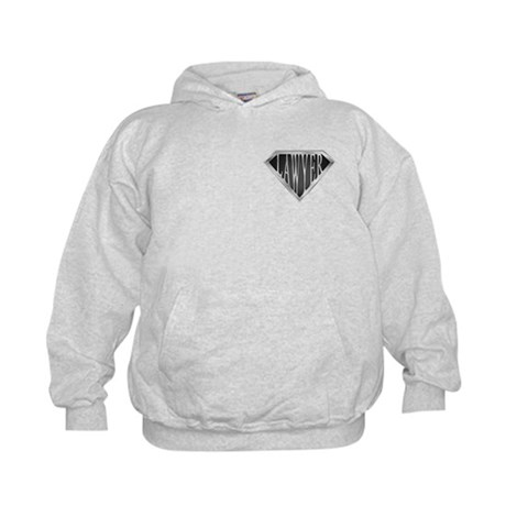 SuperLawyer(metal) Kids Hoodie