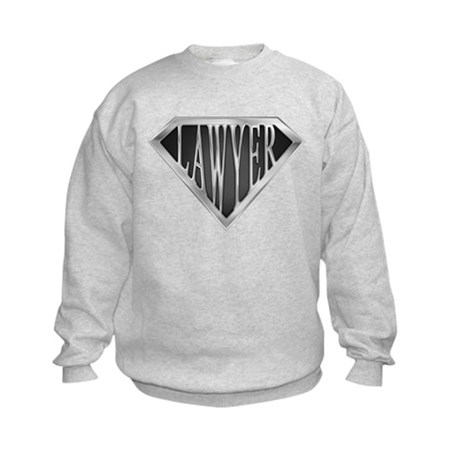 SuperLawyer(metal) Kids Sweatshirt