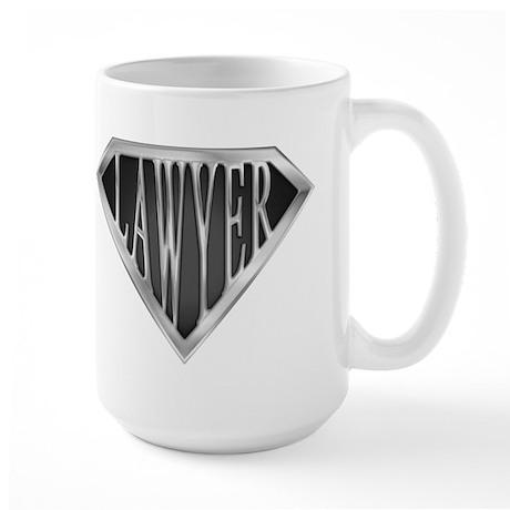 SuperLawyer(metal) Large Mug