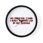 I Said I Built A Math Lab Wall Clock