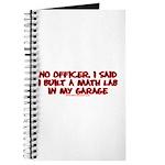 I Said I Built A Math Lab Journal
