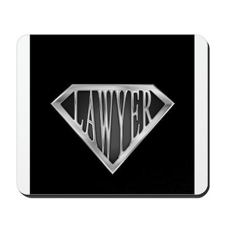 SuperLawyer(metal) Mousepad