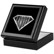 SuperLawyer(metal) Keepsake Box