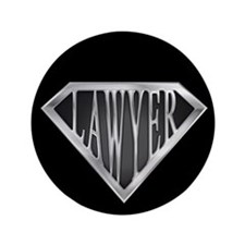 "SuperLawyer(metal) 3.5"" Button"