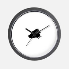 j.cakes logo Wall Clock