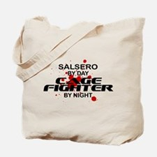 Salsero Cage Fighter by Night Tote Bag