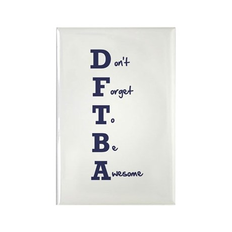 DFTBA - Rectangle Magnet