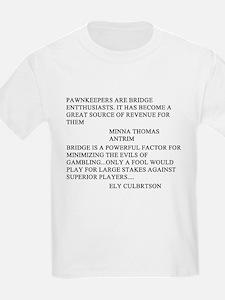 bridge game T-Shirt