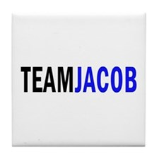 Jacob (blue) Tile Coaster