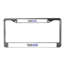 Jacob (blue) License Plate Frame