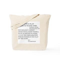 bridge game Tote Bag