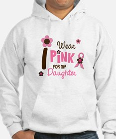I Wear Pink For My Daughter 12 Hoodie