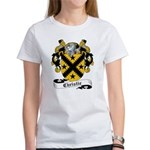 Christie Family Crest Women's T-Shirt
