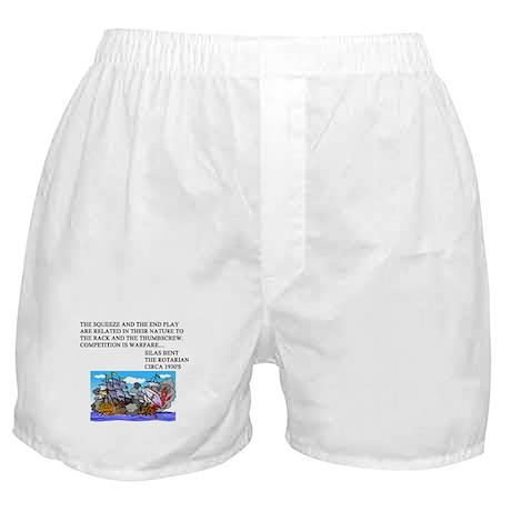 bridge game Boxer Shorts