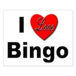 I Love Bingo Small Poster